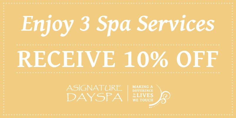 A Signature Day Spa Promo